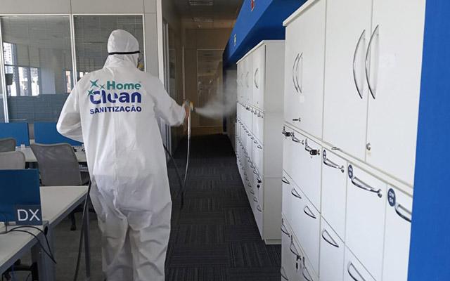 Sanitização e Desinfecção - depois | Home Clean
