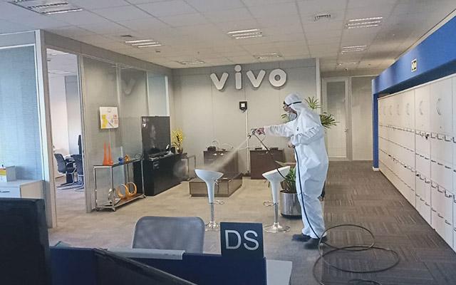 Sanitização e Desinfecção - corporativas | Home Clean